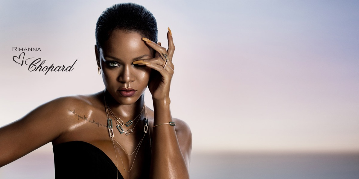 Rihanna New Jewelry Collection With Chopard