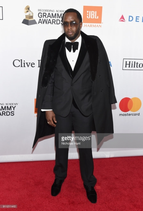 attends the Clive Davis and Recording Academy Pre-GRAMMY Gala and GRAMMY Salute to Industry Icons Honoring Jay-Z on January 27, 2018 in New York City.